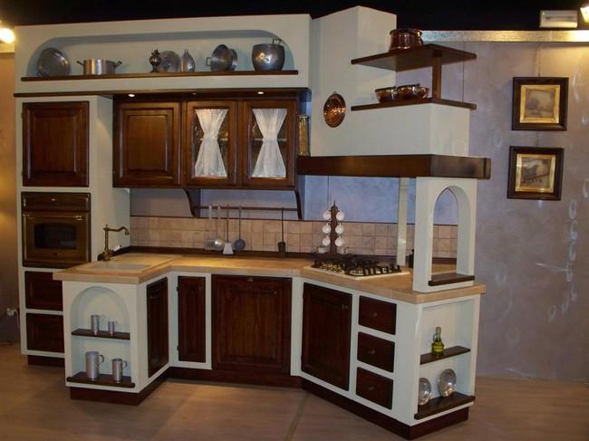 Cucina Finta Muratura Cucine A Prezzi Scontati | sokolvineyard.com